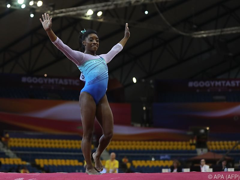 Simone Biles bricht alle Rekorde