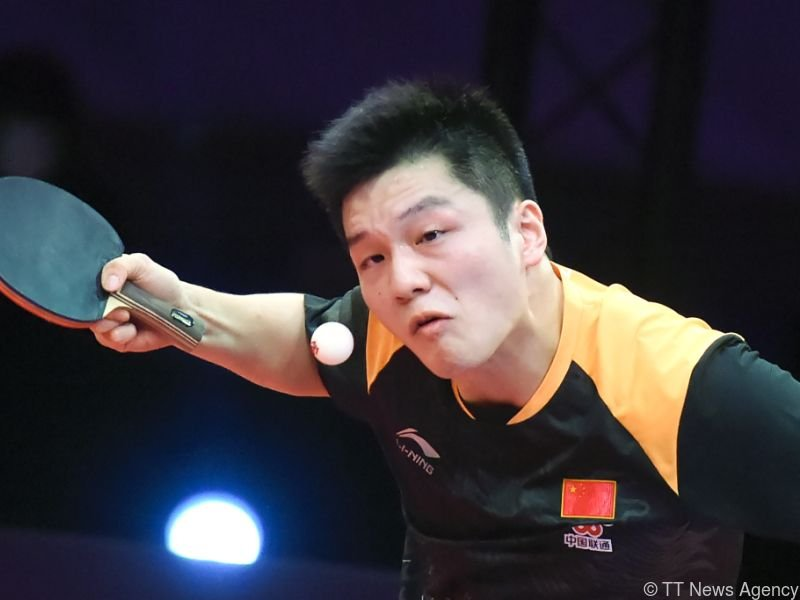 Topstar Fan Zhendong geht als Favorit in das Linzer Turnier