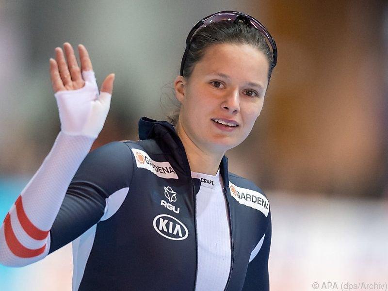 Eisschnellläuferin Vanessa Herzog mit sehr gutem Saisonstart