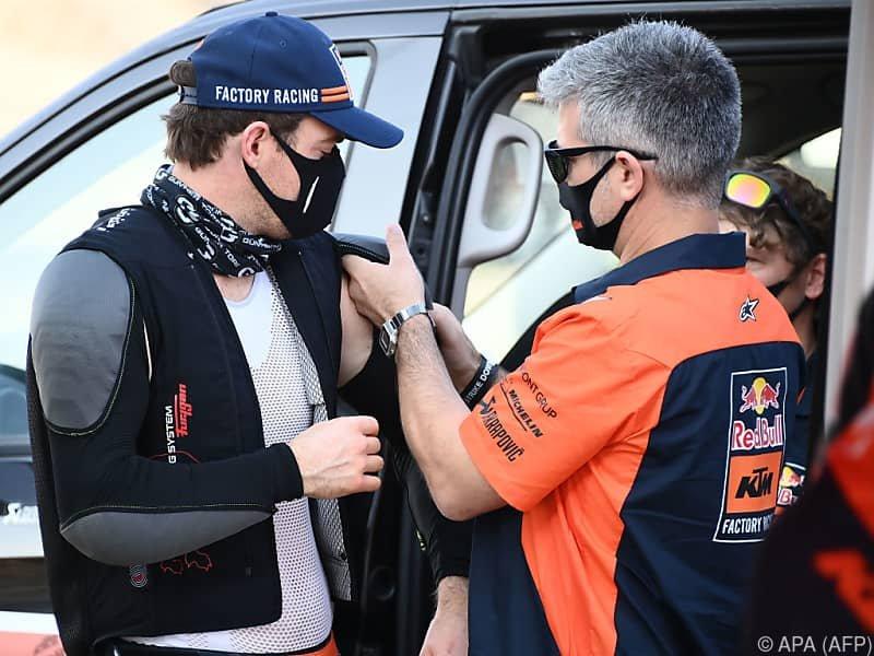 Walkner bei Rallye Dakar