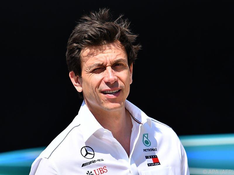 Mercedes-Motorsportchef Toto Wolf
