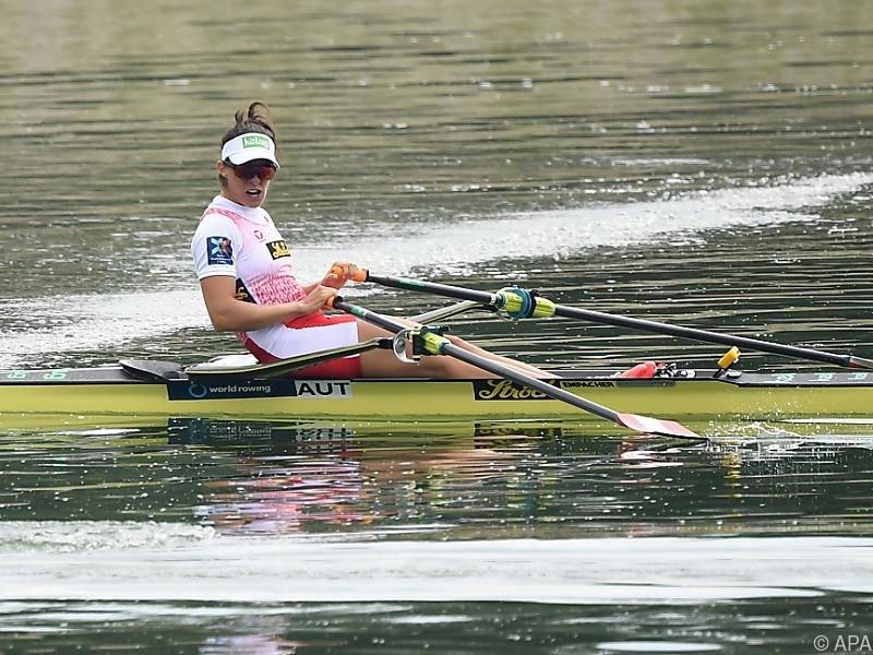 Magdalena Lobnig trainiert hart für das Ziel Olympia 2020