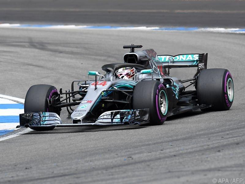 Hamilton profitierte von Vettel-Ausfall