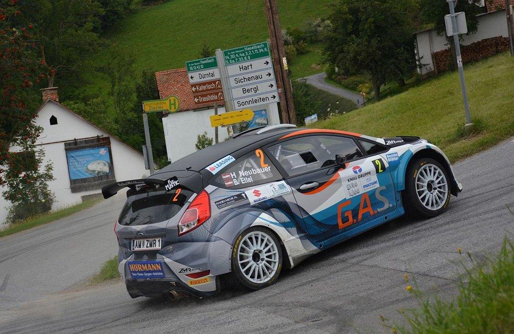Neubauer siegte zum dritten Mal in Folge bei Weiz-Rallye