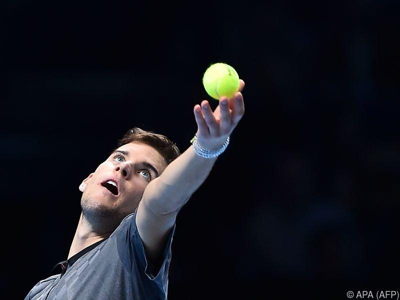 Dominic Thiem gegen Roger Federer völlig von der Rol