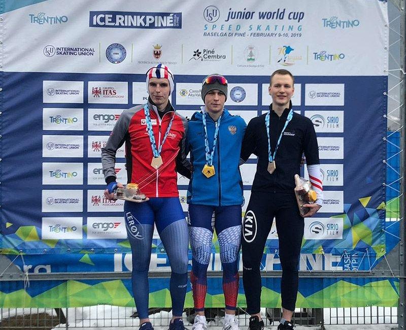 Dritter Platz für Gabriel Odor über 1.500 Meter beim Juniorenweltcup