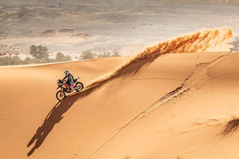 Walkner vor Marokko-Schlussetappe Gesamt-Zweiter