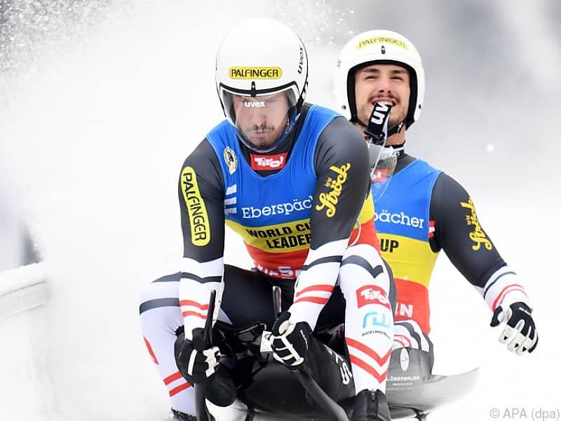 Steu/Koller verteidigten Weltcupführung mit Rang 3