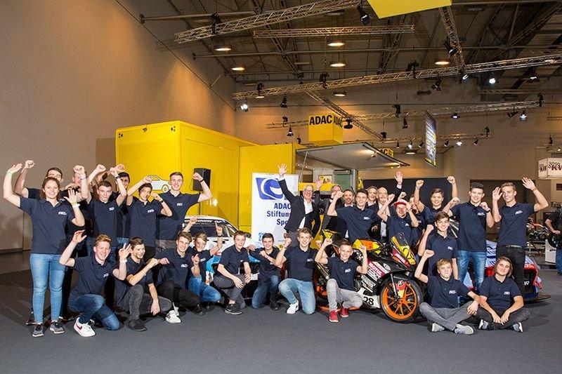 ADAC Stiftung Sport, Präsentation, Essen Motor Show, Förderkader 2020 mit Vorstand und Stiftungsrat