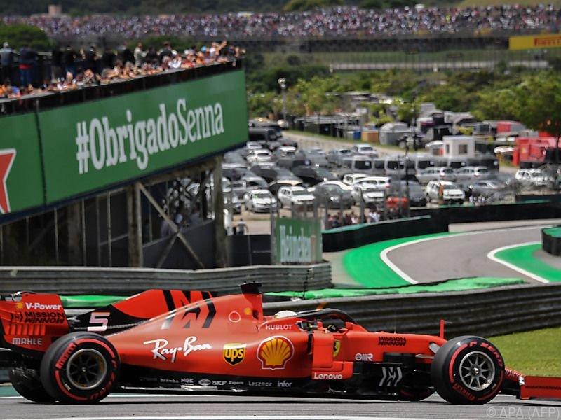Vettel landete auf Platz zwei