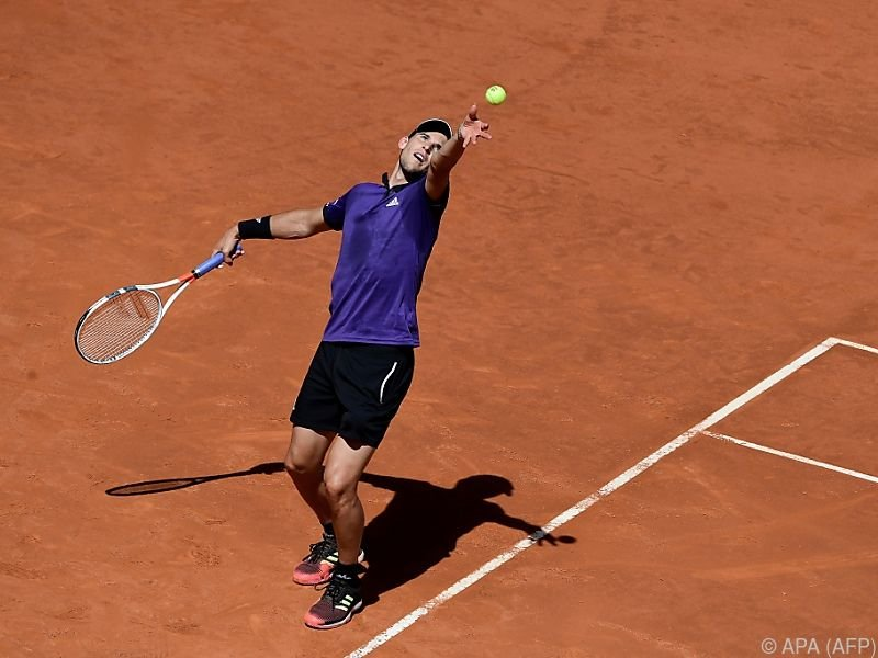 Dominic Thiem forderte Novak Djokovic zum Halbfinalduell