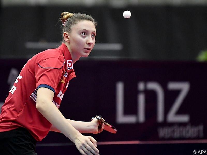 Tischtennis-Ass Sofia Polcanova