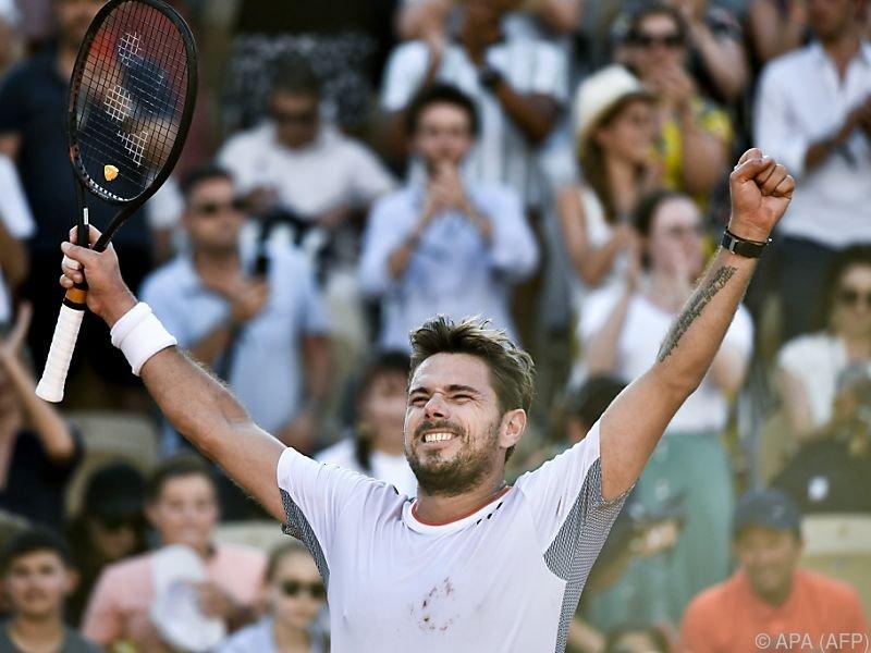 Der 34-Jährige trifft am Dienstag auf seinen Landsmann Roger Federer