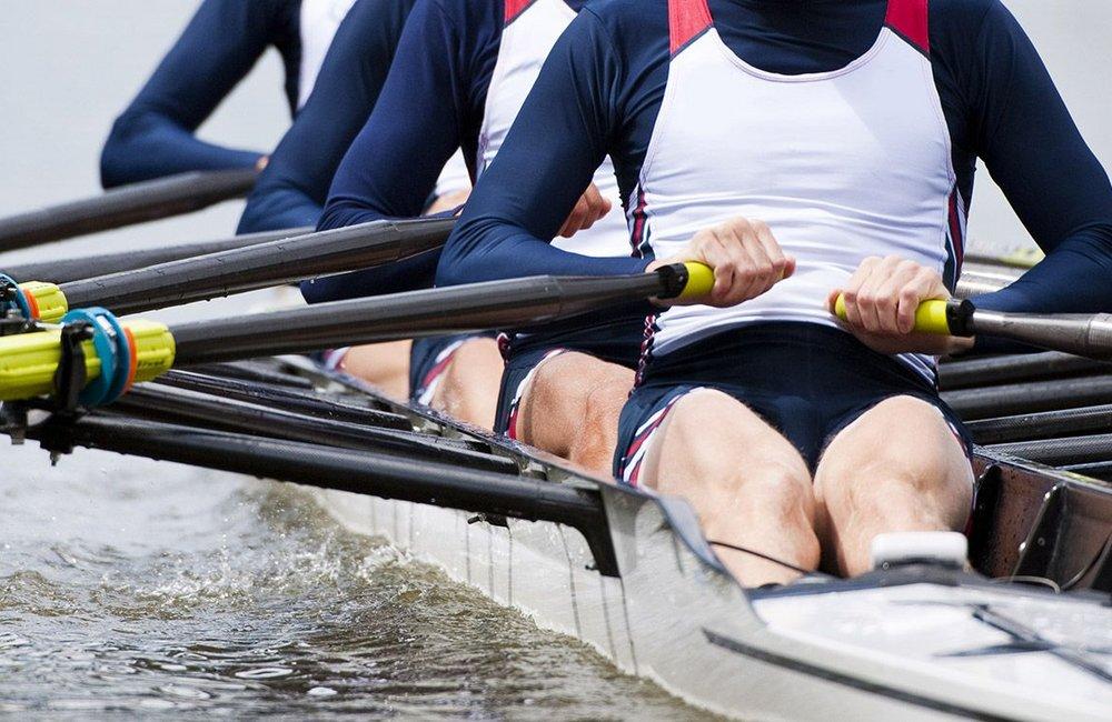Symbolfoto Sportart Rudern