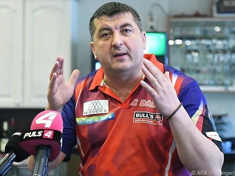 Suljovic will erstmals ins WM-Viertelfinale