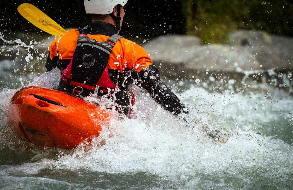 Symbolfoto Sportart Kanu