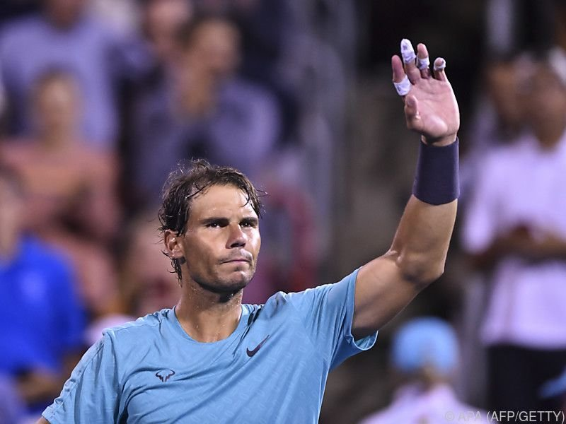 Nadal greift nach einem weiteren Titel