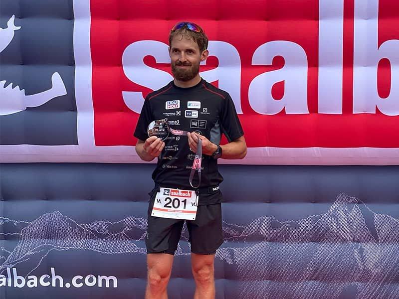 Trailrunner Mario Ortner erfolgreicher Zweiter beim Soul Trail in Saalbach