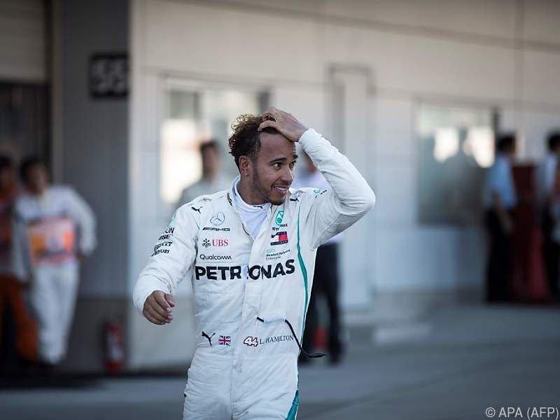 Lewis Hamilton greift nach seinem fünften WM-Titel