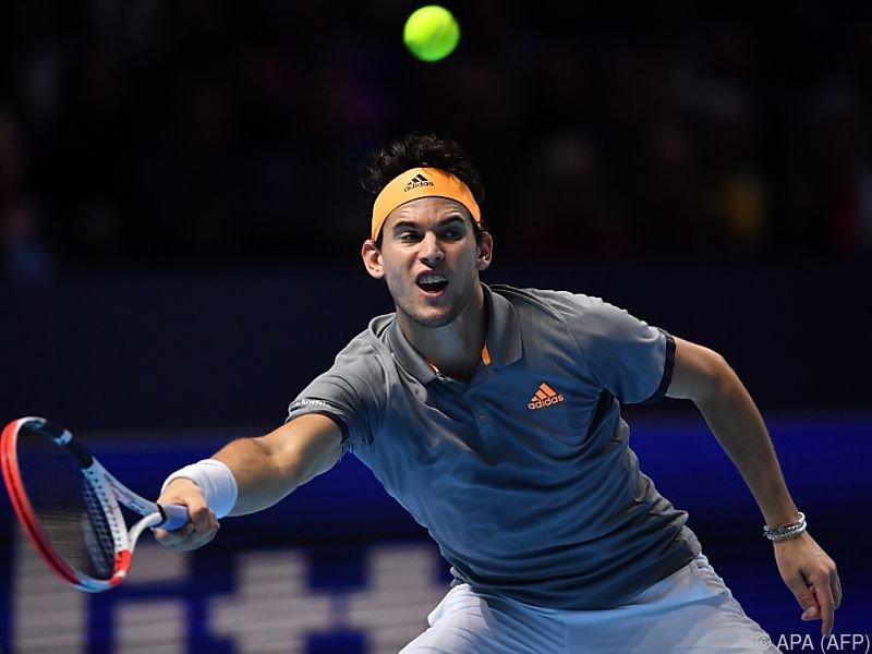 Thiem hatte zuvor gegen Federer und Djokovic gewonnen