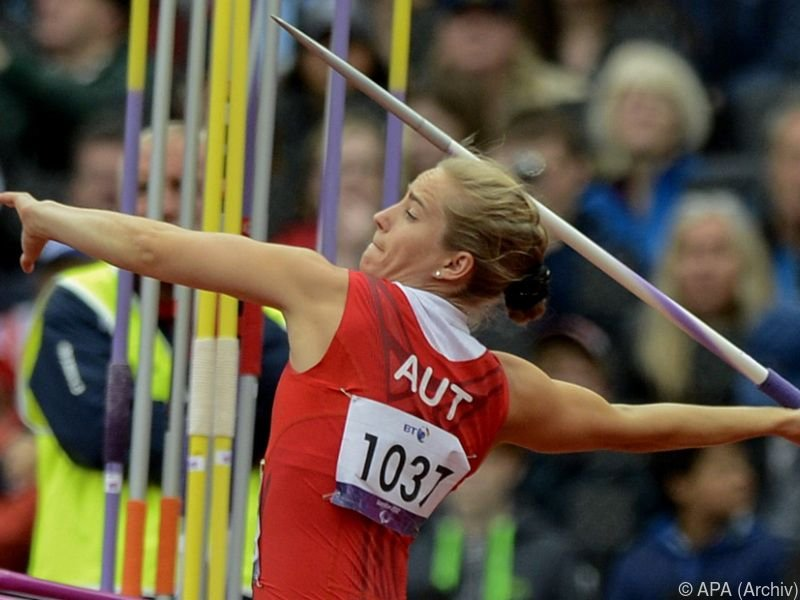Natalija Eder holte Speerwurf-Gold für Österreich
