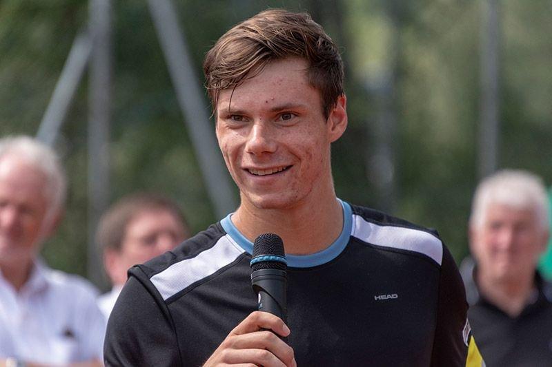 Sandro Kopp an dem Finale in Kramsach