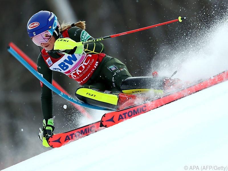 Mikaela Shiffrin stellte Rekord von Annemarie Moser-Pröll ein