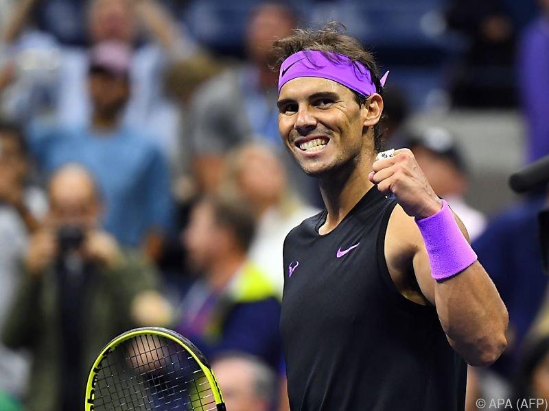Im Finale trifft Nadal auf den Russen Daniil Medwedew
