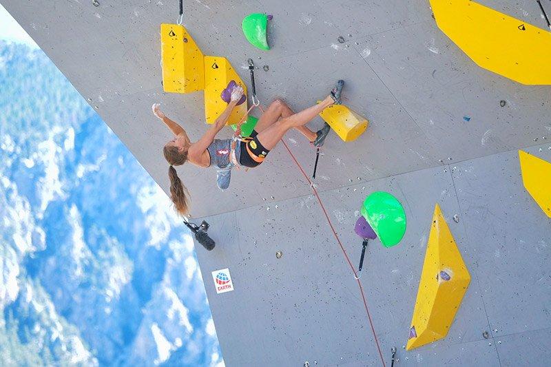 Beste Weltcup-Platzierungen und zwei Halbfinal-Premieren für Kletterer