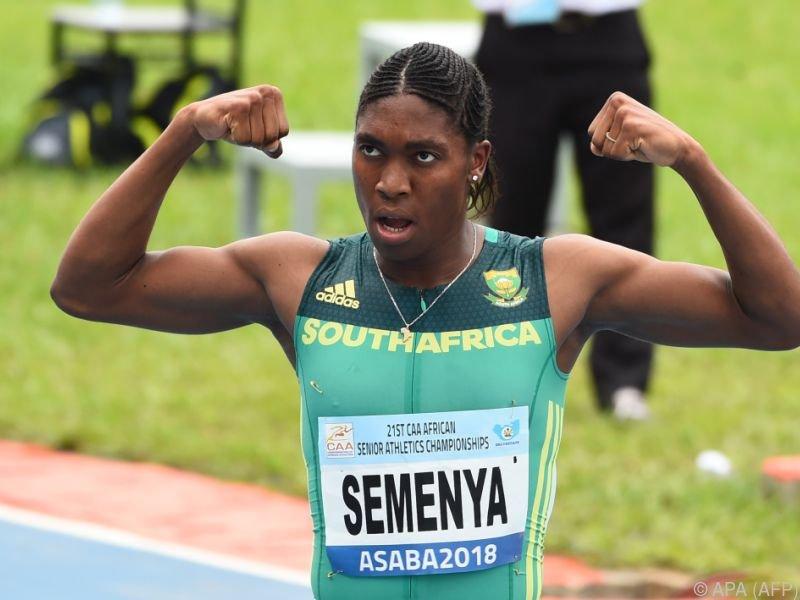 800-Meter-Olympiasiegerin Caster Semenya