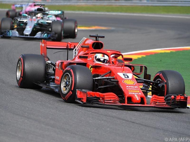 Sebastian Vettel gewann Grand Prix in Spa vor Lewis Hamilton