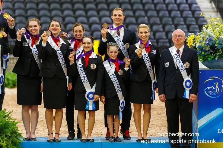 Zweite WM-Medaille für Österreichs Voltigierer in Tryon (USA)