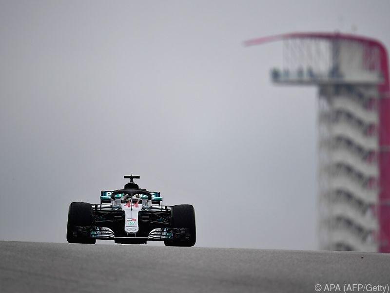 Lewis Hamilton kann sich in Austin vorzeitig zum Weltmeister krönen