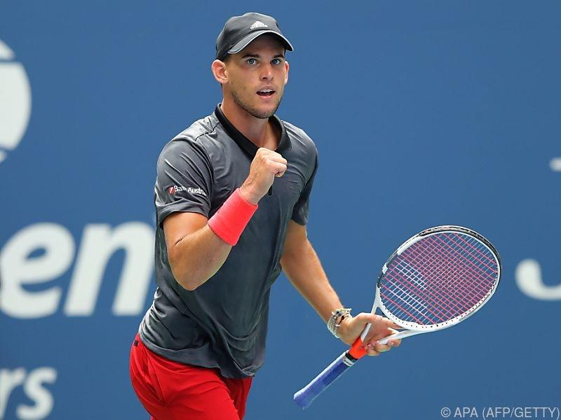 Thiem nach 7:5,6:2,7:6 gegen Anderson im US-Open-Viertelfinale