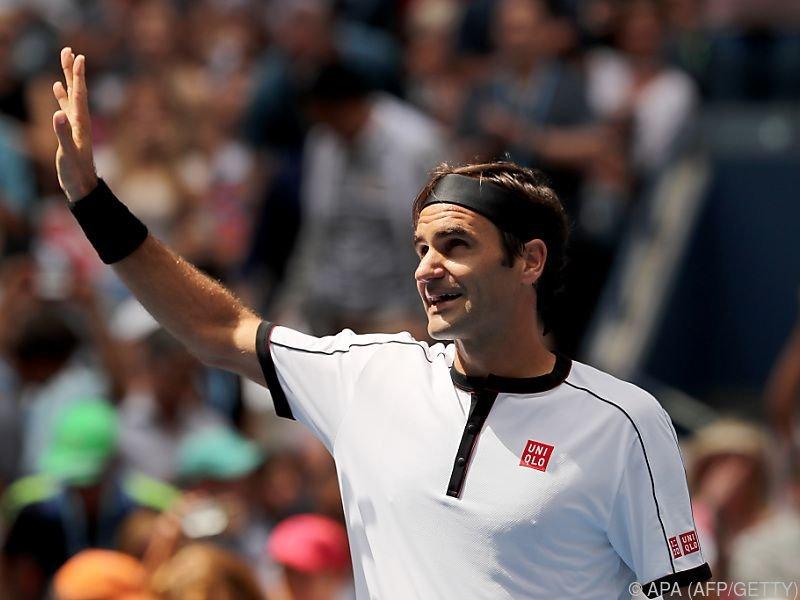 Federer hatte gar keine Mühe