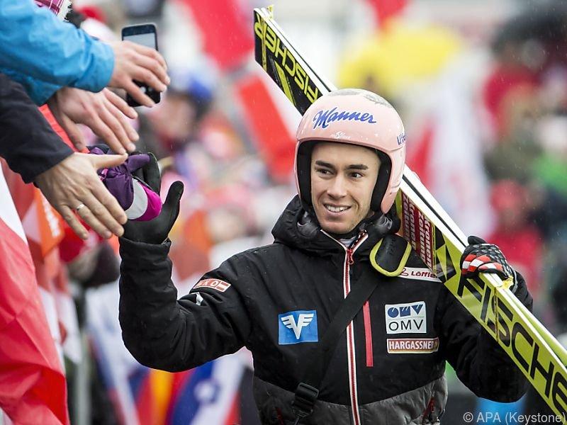 Stefan Kraft ist einmal mehr das Aushängeschild des ÖSV-Teams
