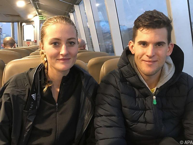 Mladenovic und Thiem sind mittlerweile ein eingespieltes Team