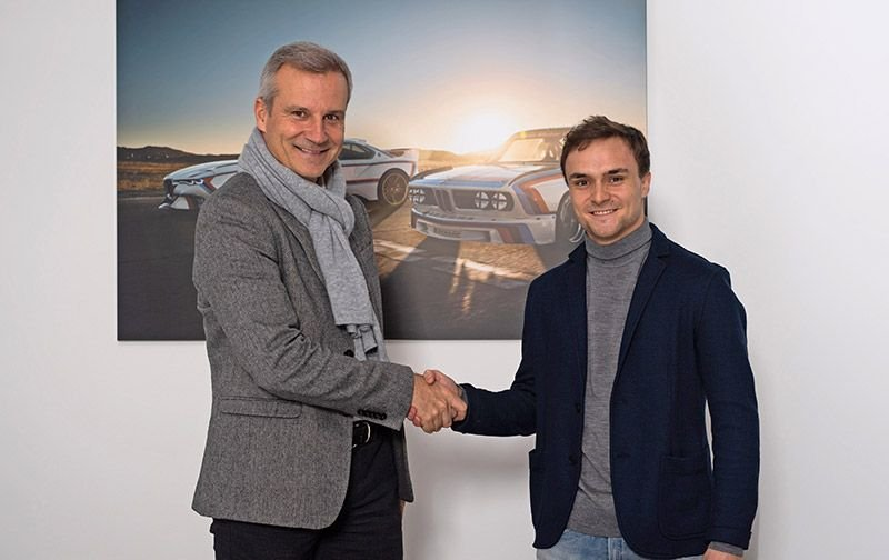 Lucas Auer kehrt 2020 mit BMW in die DTM zurück