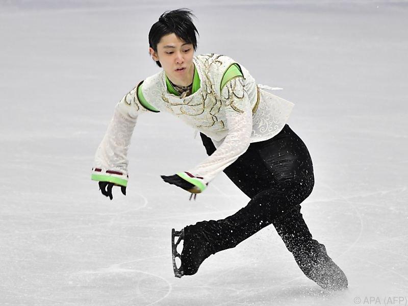 Hanyu übertraf sich wieder einmal selbst