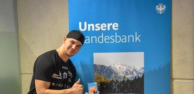 Patrick Geiger der Sieger beim HYPO Tirol U25 Voting