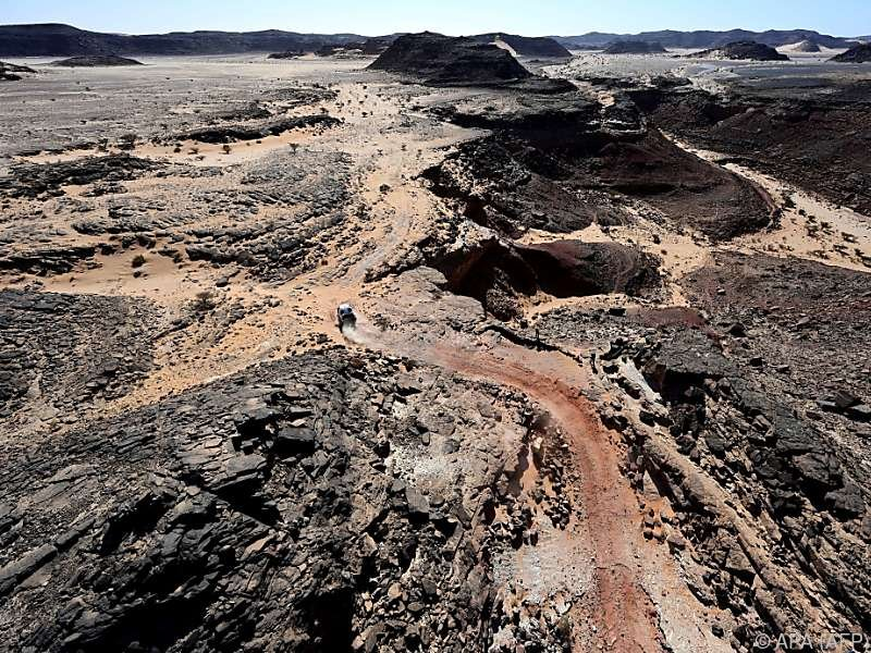 Gedämpfte Stimmung bei der motorradfreien 8. Etappe der Rallye Dakar