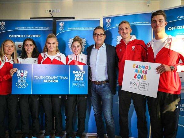 Das Youth Olympic Team Austria ist in Buenos Aires mit 21 Mädchen und 20 Burschen in insgesamt 13 Sportarten