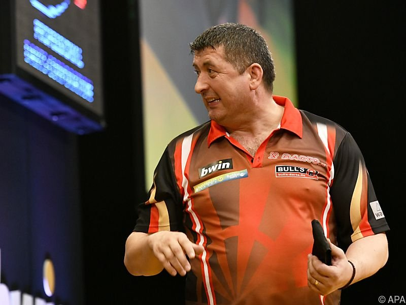 Suljovic will bei Darts-WM erstmals ins Viertelfinale