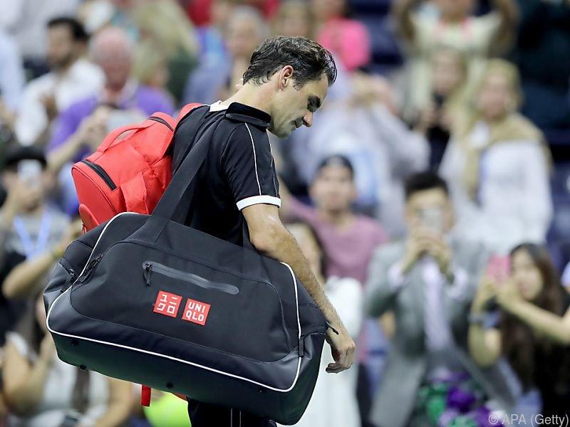 Der 38-jährige Schweizer verlor in fünf Sätzen