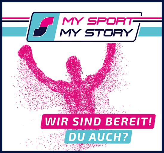 MY SPORT MY STORY - Hier(er)zählst Du