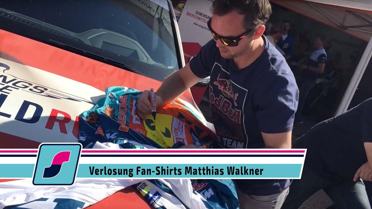 Verlosung Fan-Shirts Matthias Walkner