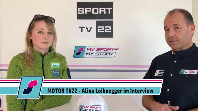 MOTOR TV22: Rennfahrerin Alina Loibnegger im Interview
