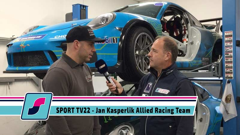 SPORT TV22: Das Allied Racing Team startet in die Saison 2020