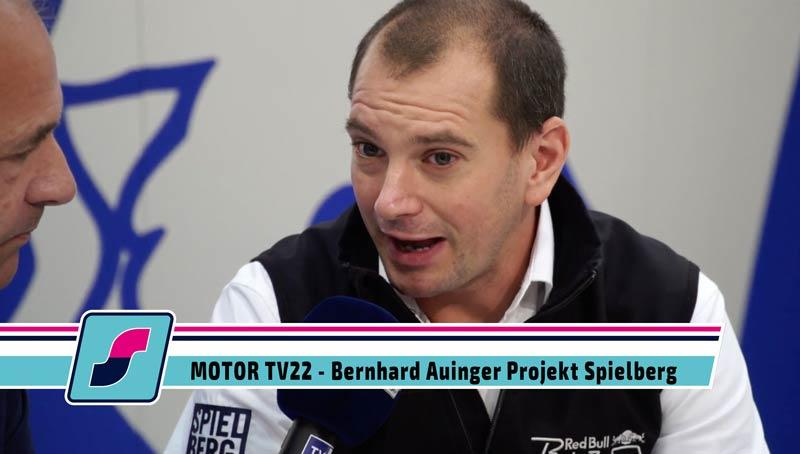 MOTOR TV22: Bernhard Auinger, Leiter des Driving Centers am Red Bull Ring, auf der Essen Motorshow