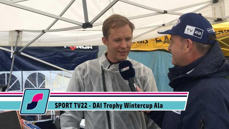 DAI Trophy Wintercup in Ala mit Mattias Ekström